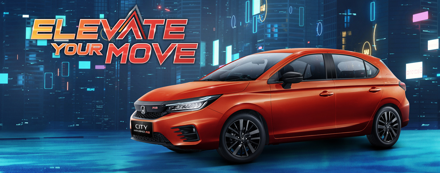 Read more about the article HONDA CITY HATCHBACK RS