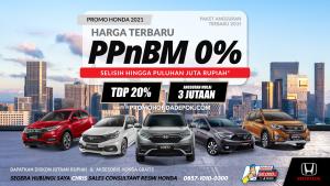 Read more about the article Harga PPnBM 0% dan Promo Mobil Honda Terbaru 2021
